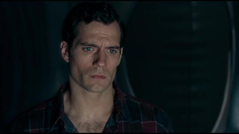 Вырезанная сцена из «Лиги справедливости» - Черный костюм Супермена