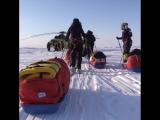 Первая женская евро-арабская экспедиция на Северный полюс