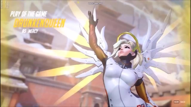 Overwatch - Lazy Mercy POTG