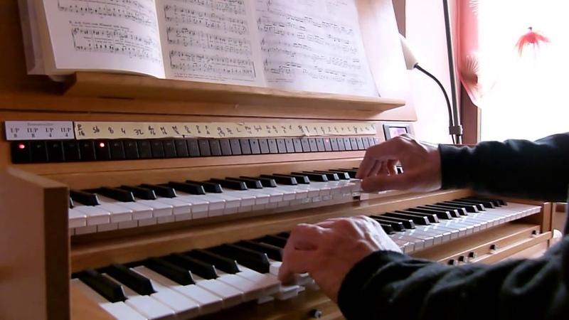 JS.BACH choral Ach,Gott und Herr BWV 692 Pierre ASTOR