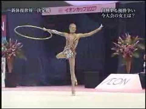 Ольга Капранова обруч Aeon Cup 2007