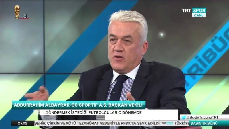 Mustafa Cengiz Abdurahim Albayrak Trt Spor- Basın tribunu part 1