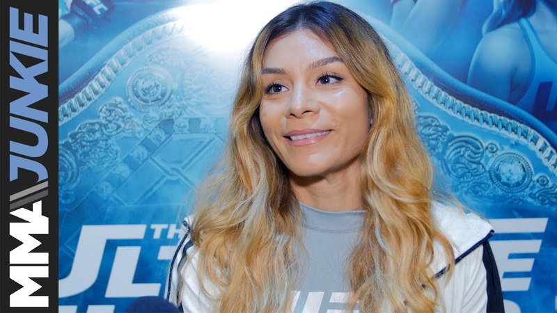 The Ultimate Fighter 26 Finale Nicco Montano full media day interview