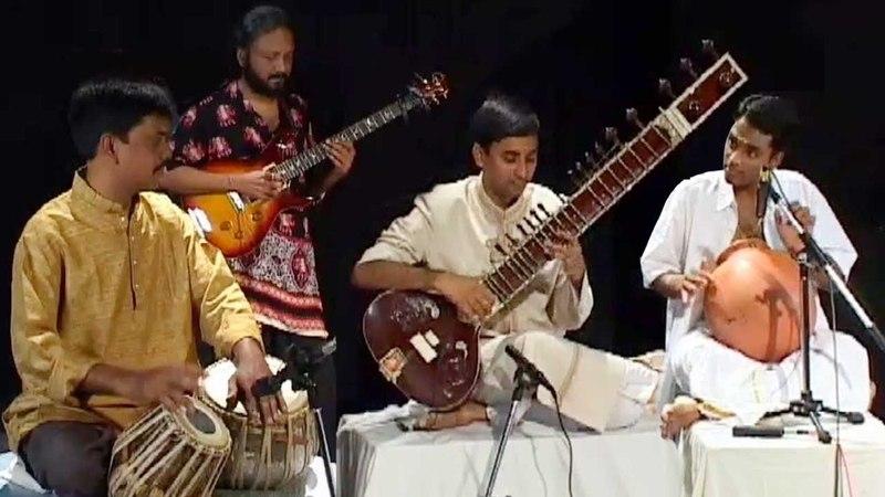Fusion Music - Sitar |Tabla |Flute - Classical Instrumental Music - B.Sivaramakrishna Rao