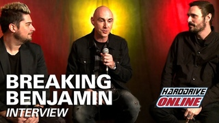 BREAKING BENJAMIN talk writing 'RED COLD RIVER,' releasing 'EMBER,' and Virtual Reality Gaming!