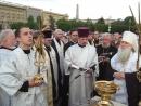 Освящение колоколов для Собора А Невского в Волгограде