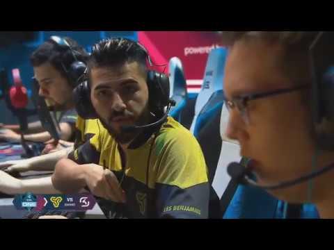 1080p60 || Space Soldiers Vs SK Gaming -MAP1 CACHE- ESL One Belo Horizonte 2018 ELEMELERİ