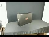 Распаковка игрового ноутбука ASUS ROG CHIMERA