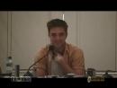 Robert Pattinson Пресс-конференция Затмения Часть 2