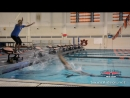 Ball Drill for Backstroke Starts with Olympic Gold Medalist Tyler Clary