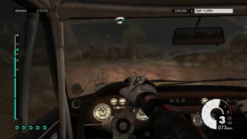DiRT 3,Lancia Fullvia HF, in Hella Paint, Tawita Downhill, but in first person
