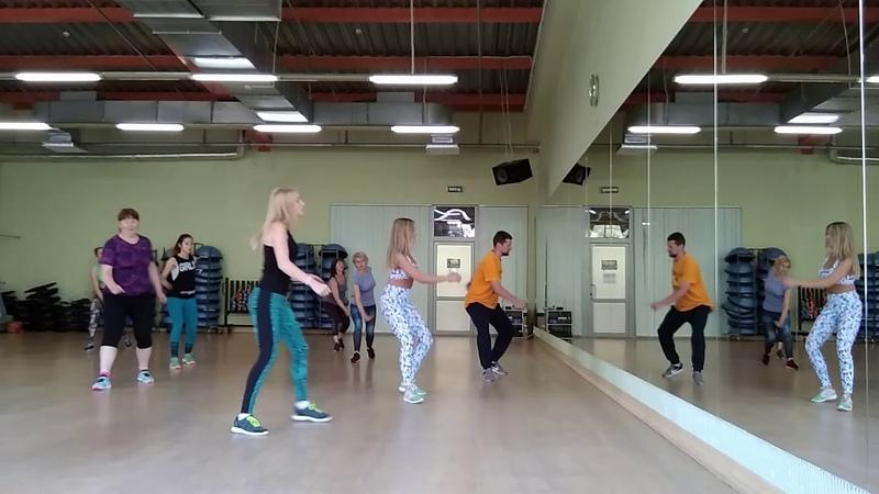 Курс(Easy Aero-dance )Full lesson 52