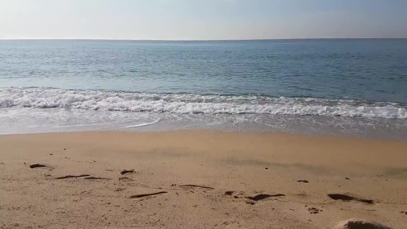 Beach Playa Bonita Waves - Public Domain Video