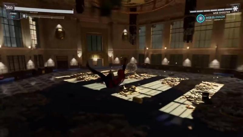 [lzuniy] PS4 Spider-Man Vs. Shocker Boss Fight Open-World Gameplay Walkthrough Demo (E3 2018)