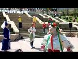 г.Кисловодск, открытие курортного сезона на каскадной лестнице. Запевает: Юлия Сердюк-Есаулова