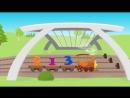 V-s.mobiСмышленыи Паровозик - Все серии подряд - Веселые обучающие песни для детей.mp4