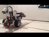 Робот с интеллектом червя