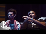 Tee Grizzley and PNB Rock In The Studio (Shot by @JerryPHD)