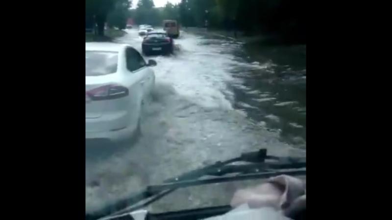 Последствия дождя 16 7 2018 Ростов на Дону Главный