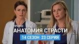 Анатомия страсти 14 сезон 23 серия Промо (Русская Озвучка)