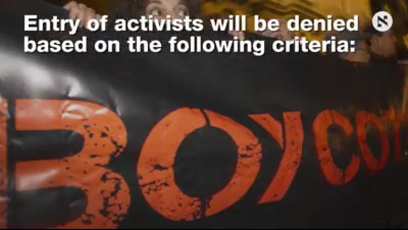 Israël publie la liste noire de BDS: ce sont les 20 groupes dont les membres seront refusés www.haaretz.com/israel-news/