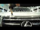 LEXUS комплексная мойка, полировка и детейлинг двигателя