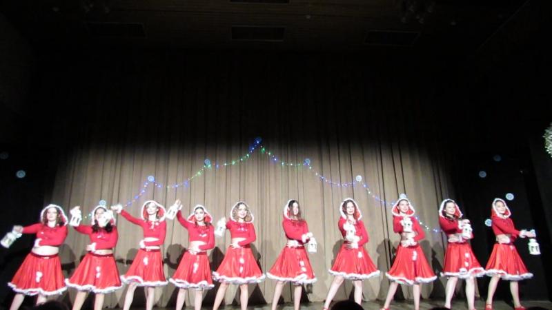 Танец Новогодние Эльфы. Театр восточного танца Аль-Джана