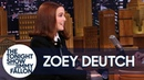 Zoey Deutch Shows Off Her Accents