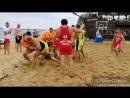 Открытый турнир по регболу на пляже СКК Солнечный берег