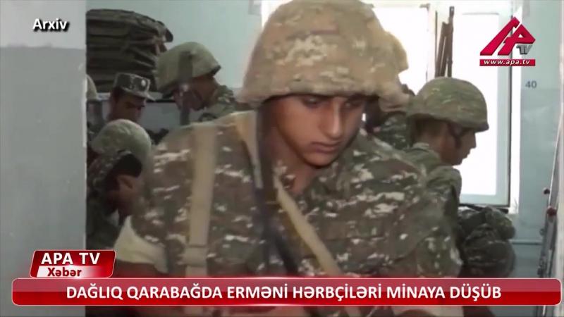 В Нагорном Карабахе армянские военнослужащие подорвались на мине.