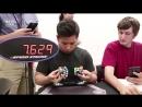 Поставил рекорд по собиранию двух Кубиков Рубика