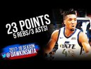 Donovan Mitchell Full Highlights WCR1 Game 5 OKC Thunder vs Utah Jazz - 23-5-3! | FreeDawkins