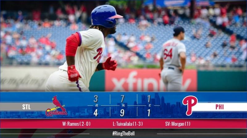 Game 72: PHI_4_STL_3 © MLB.com