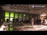 Прямая трансляция с места взрыва в «Перекрестке» на Кондратьевском