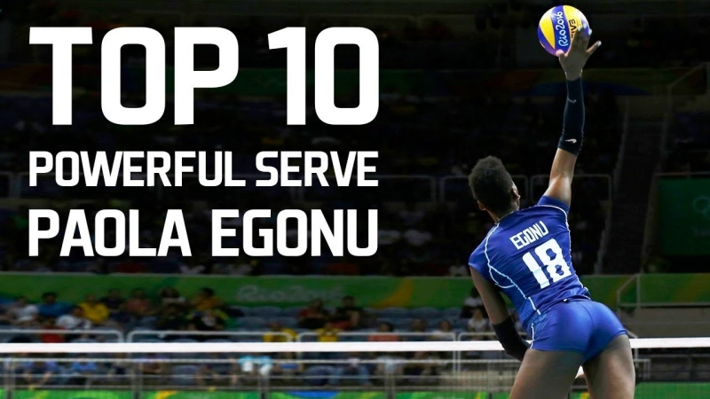 TOP 10 Powerful SERVE by Paola Egonu