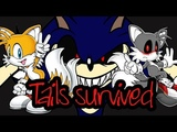 SONIC.EXE: The Spirits of Hell Round 1 - (Nightmare) !Tails Alone! {F*cking Fox Running}