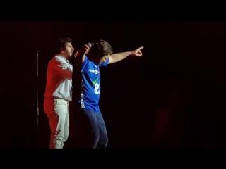 Les Enfoirés 2018_Gabrielle_Patrick Fiori et Michael Youn_fan video
