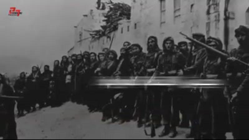 Deir Yassin... elle sest battue jusquà ce que la dernière munition soit épuisée. Un massacre a été commis après une farouche r