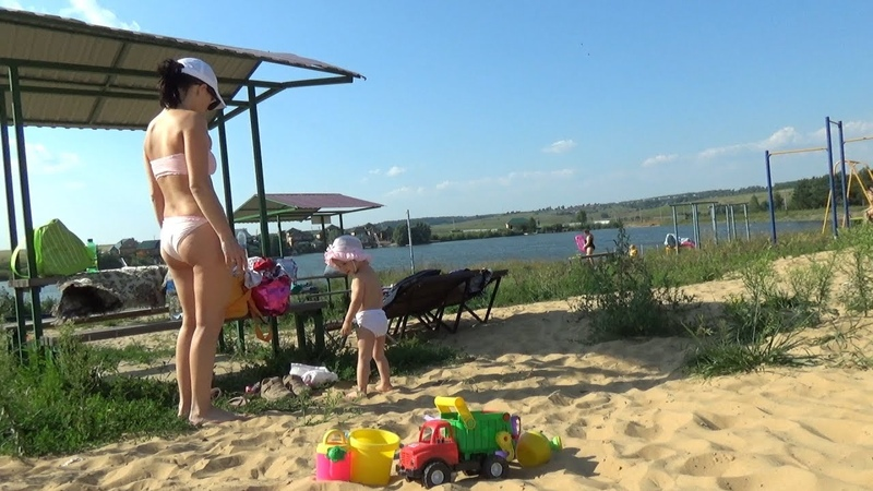 Лучший пляж Чебоксар - Лагуна М/ Best beach of Cheboksary - Blue Lagoon