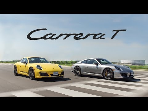 2018 Porsche 911 Carrera T Manual vs PDK Review - The Purist Porsche