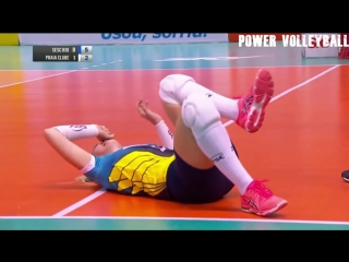 VOLLEYBALL NIGHTMARE. Horror Volleyball Injuries (HD).