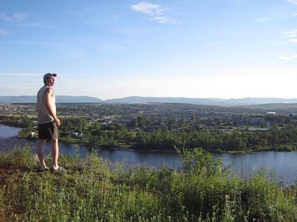 Нижнеудинск река Уда, гора Вознесенка