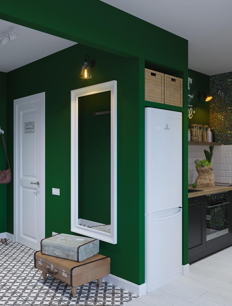 Концепт квартиры-студии 31 м.