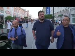 Василий Уткин в Нижнем Новгороде