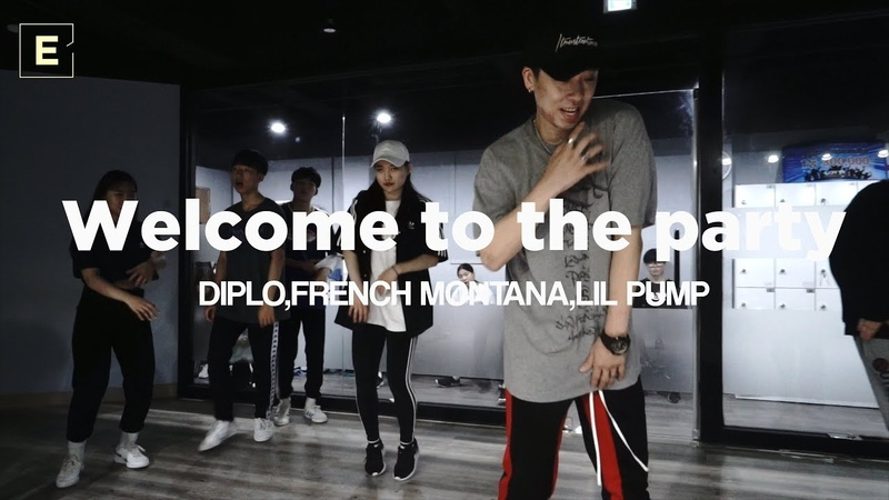 TAEWAN class   DIPLO,FRENCH MONTANA,LIL PUMP-Welcome to the party   E DANCE STUDIO   이 댄스학원 천호댄스