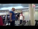 SharkAthletic на КРЫМ24 Тренировка на бицепс от Руслана Гавриленко