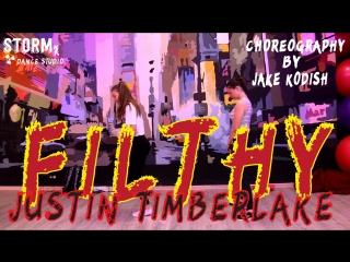 MAYA & NASTYA | Justin Timberlake - Filthy | Choreography by Jake Kodish