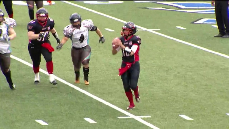 The Minnesota Vixen improve to 7-0 in a border battle win over the Wisconsin Dragons.