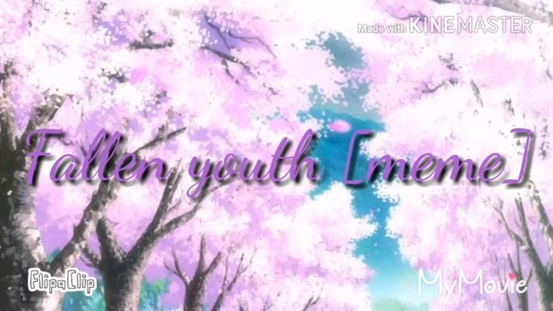 🌸Fallen youth [meme]🌸