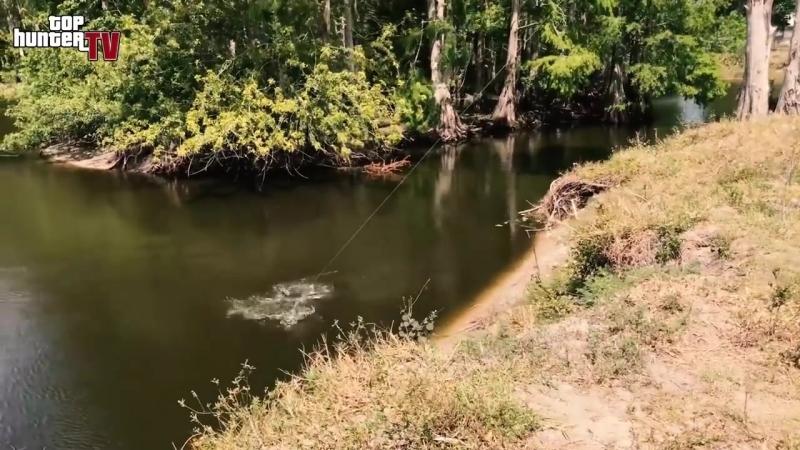 Человека утащил Крокодил! ОХОТА на Аллигатора. Спиннинг для крокодила